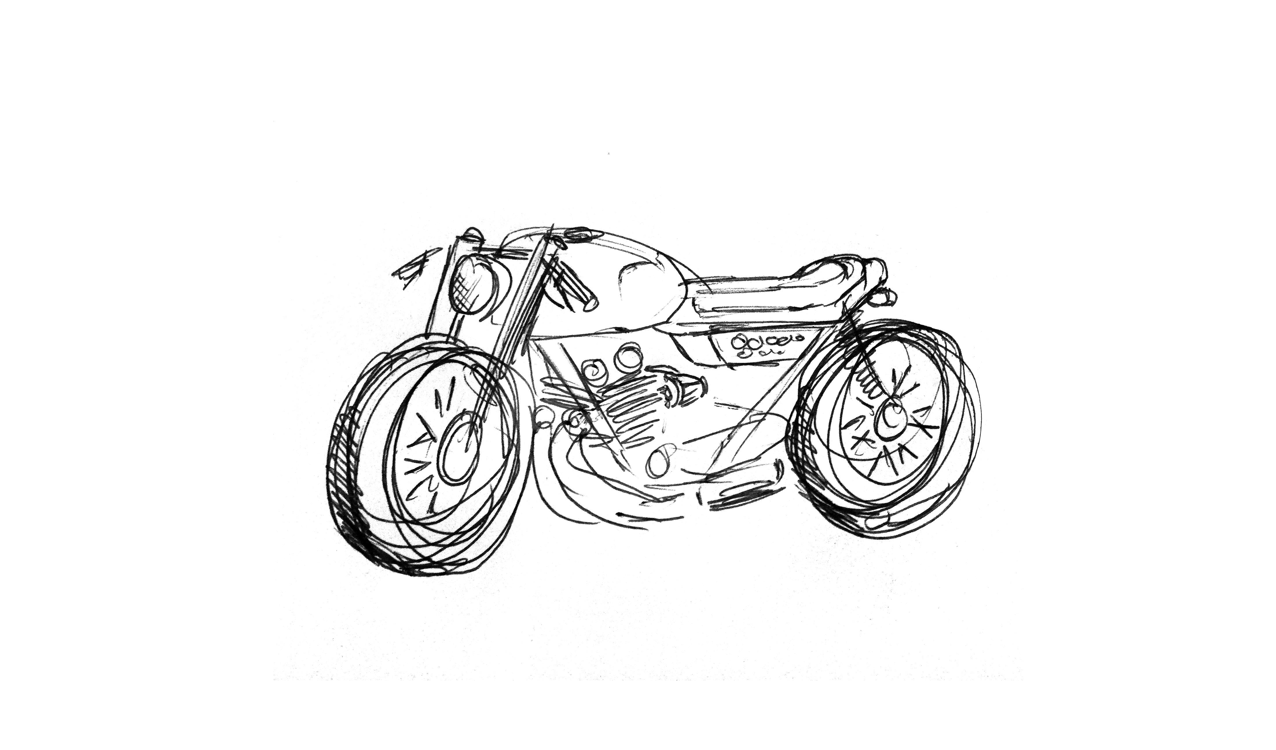 Cykel doodle
